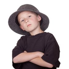 Free Serious Boy Stock Photography - 19502592