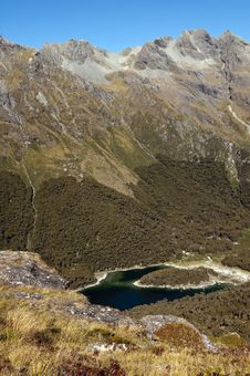 Free Lake Mackenzie - Routeburn Track Royalty Free Stock Photo - 19502655