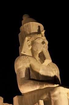 Free Statue Of Ramses II At Luxor Temple Royalty Free Stock Photography - 19504947
