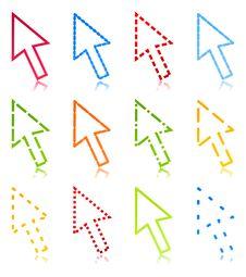 Free Computer Arrow2 Stock Photos - 19505423