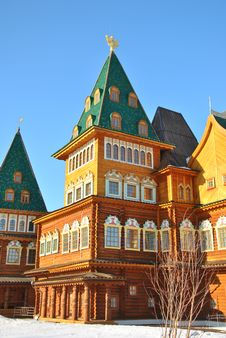 Free Wooden Palace In Kolomenskoe, Moscow, Russia Stock Photography - 19506702