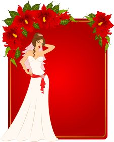 Free Bride In White Dress Royalty Free Stock Image - 19506926