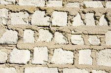 Free Old White Bricks Wall Background Stock Photos - 19506953