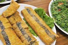 Free Vegetarian Fish Cuisine Royalty Free Stock Image - 19507226