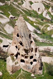 Free The Houses Of Cappadocia Stock Photos - 19507423
