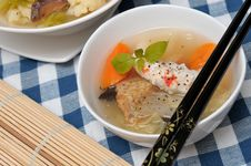 Free Delicious Seafood Soup Royalty Free Stock Photo - 19507555