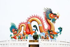 Free The Big Dragon Royalty Free Stock Photography - 19507847