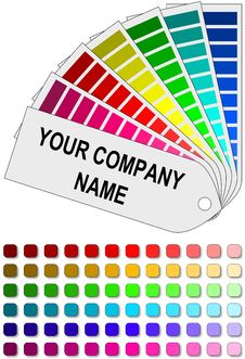 Free Color Swatch Royalty Free Stock Photo - 19508055