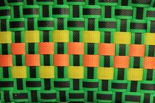 Colorful Basket Pattern Royalty Free Stock Photography