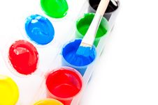 Free Color Paint Royalty Free Stock Images - 19509119