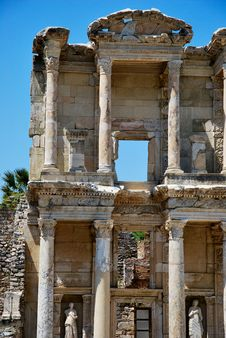 Free Celsus Library In Ephesus Stock Image - 19509591