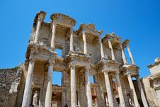 Free The Celsus Library In Ephesus Royalty Free Stock Image - 19509676