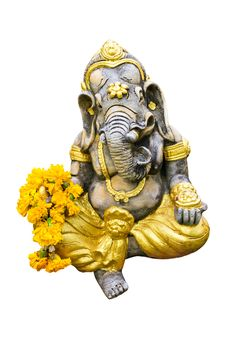 Free A Statue Of An Indian God Lord Ganesha. Stock Images - 19509684