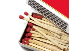 Matches Fire Stock Image