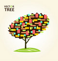 Free Abstract Colorful Tree Geometrical Stock Images - 19517704