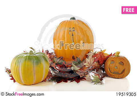 Halloween Approaching Stock Photo