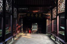 Free China Sichuan Folk Historical Buildings Royalty Free Stock Images - 19510409