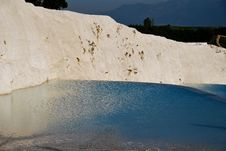 Free The Pool Of Pamukkale Royalty Free Stock Photos - 19510518