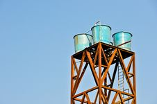 Free Water Tank Tower Stock Photography - 19510642