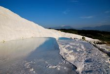 Free Pools Of Pamukkale During Evening Stock Images - 19510734