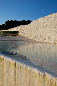 Free A Pool Of Pamukkale Royalty Free Stock Photos - 19510978