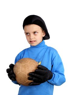 Free The Young Goalkeeper Royalty Free Stock Images - 19511289