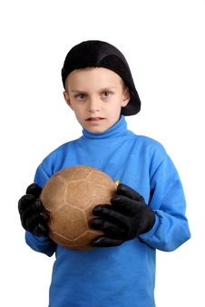 Free The Young Goalkeeper. Royalty Free Stock Photo - 19511305