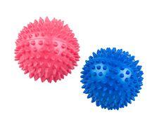 Hand Massage Balls Isolated Stock Image