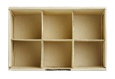 Free Free Spaces In The Box Isolated On White Royalty Free Stock Photos - 19513958