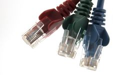 Free Cat6 Network Plugs RGB Stock Photo - 19514050