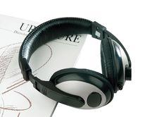 Free Headphone Set Isolated Royalty Free Stock Images - 19514059