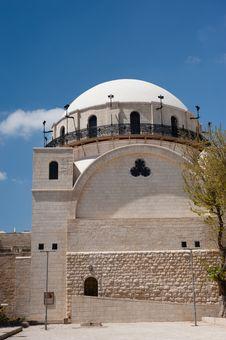 Free Hurva Synagogue, Jerusalem Stock Image - 19514961