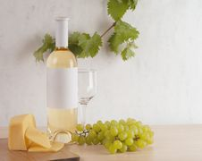 Free White Wine Stock Image - 19515061