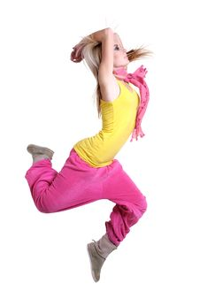 Free Dancing Girl Stock Photography - 19515302