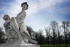 Free Statue In The Park Stock Photos - 19515363