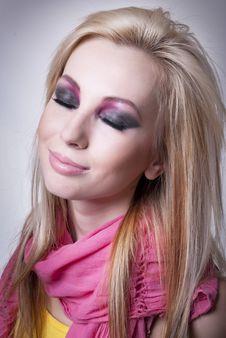 Blonde Girl Royalty Free Stock Photo