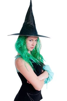 Free Witch Royalty Free Stock Photo - 19515445