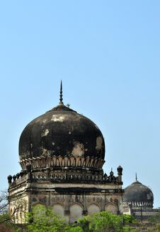 Free Qutb Shahi Tombs, Hyderabad Stock Images - 19515694