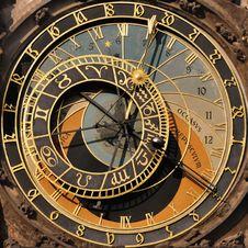 Free Prague Astronomical Clock Royalty Free Stock Image - 19516206