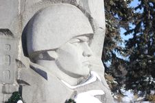 Monument To Fallen Soldiers Stock Photos
