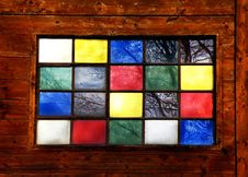 Free Stained Window Royalty Free Stock Photos - 19516638