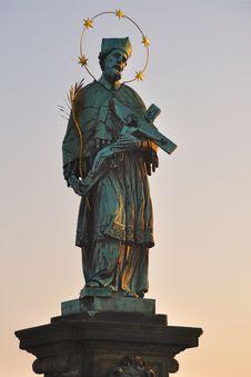 Free Saint John Of Nepomuk Royalty Free Stock Image - 19516926