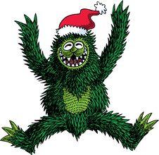 Free Monster Christmas Stock Photography - 19517412