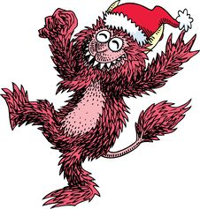 Free Monster Christmas Party Stock Images - 19517424