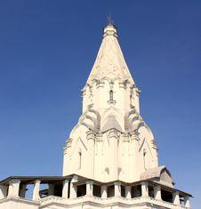 Ascension Church In   Kolomenskoye (Moscow) Royalty Free Stock Image