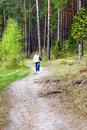Free The Path In The Woods Royalty Free Stock Images - 19520649