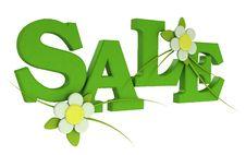 Free 3d Big Phrase On Sale Stock Photos - 19520323