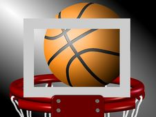 Free Basketball Royalty Free Stock Photography - 19520547
