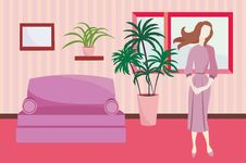 Free Interior In Vector Royalty Free Stock Photo - 19520705