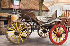 Free The Old Wagon Royalty Free Stock Photo - 19521245